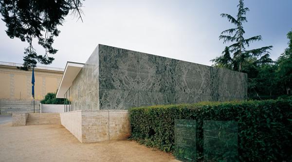 Pavilioen mies van der rohe barcelona - Fondation mies van der rohe ...