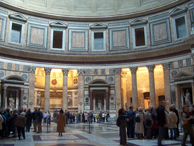 interieur pantheon